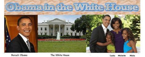 BARACK OBAMA IN THE WHITEHOUSE